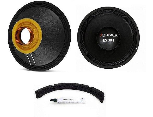 Kit Reparo 7Driver 18 Polegadas ES 3K1 4 Ohms