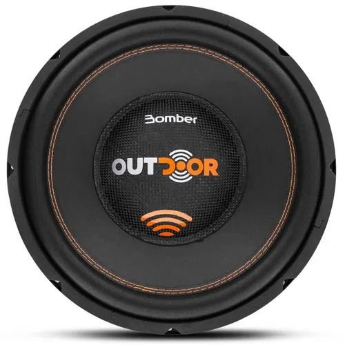Subwoofer Bomber 12 Polegadas Outdoor 500W Rms 4 Ohms