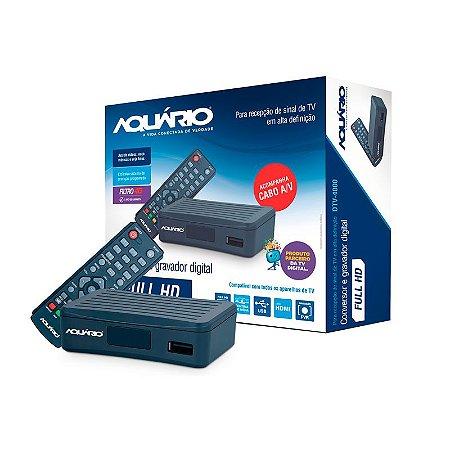 Conversor Digital Aquário Dtv4000 - Gravador - Rca - Full Hd