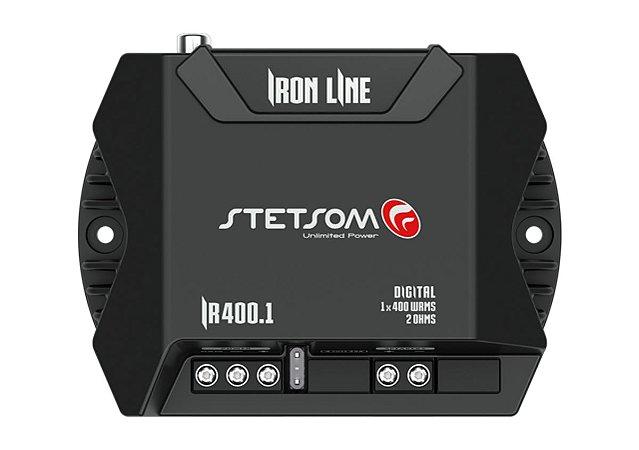 Módulo Amplificador Stetsom Ironline Ir400.1 400w 1c 2 Ohms