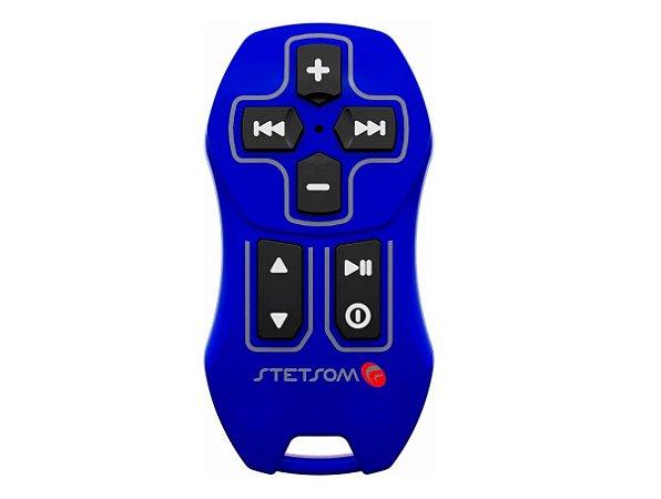 Novo Controle Longa Distância Stetsom Sx Universal 200m Azul