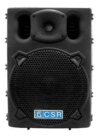 Caixa Amplificada Csr 2500a Com Entrada Usb BT 100w Rms 8 Ohms