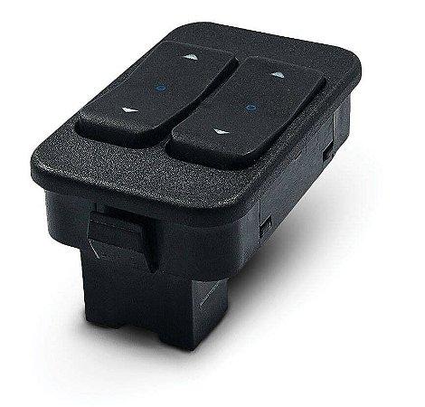 Botão Interruptor Elétrico Agile Dianteiro Esquerdo Duplo Dial