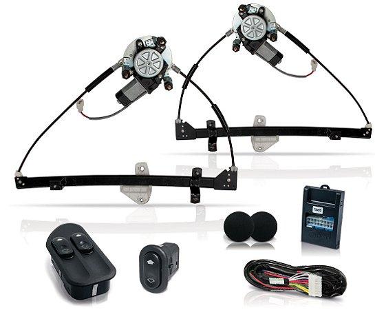 Kit Vidro Eletrico Ecosport 4P Dianteiro Ate2007 Inteligente