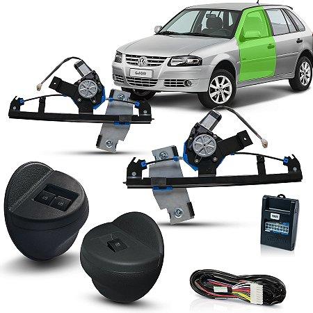Kit Vidro Eletrico Gol G4 4 porta Diant Parati Saveiro intel