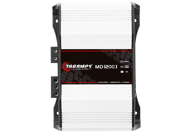 Modulo Taramps Md 1200.1 4 Ohm 1200w Amplificador Automotivo