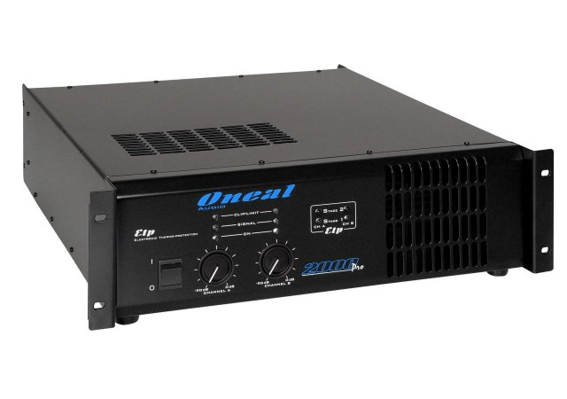 Amplificador De Som Profissional Oneal 2000 Pro 2000w Rms