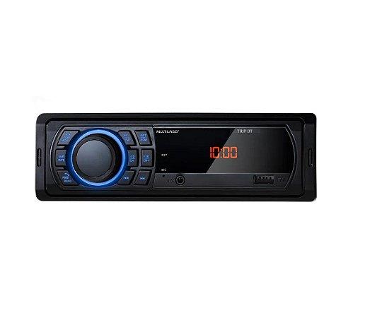 Som Automotivo Multilaser Mp3 Bluetooth Usb Preto Aux P3344
