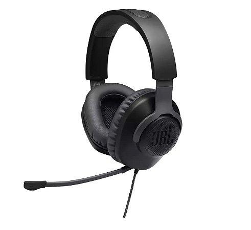 Headset / Fone De Ouvido Jbl Quantum 100 Gamer - Preto