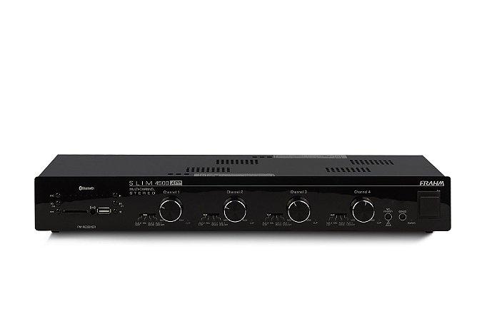 Amplificador Som Ambiente Frahm Slim 4500 App Optical