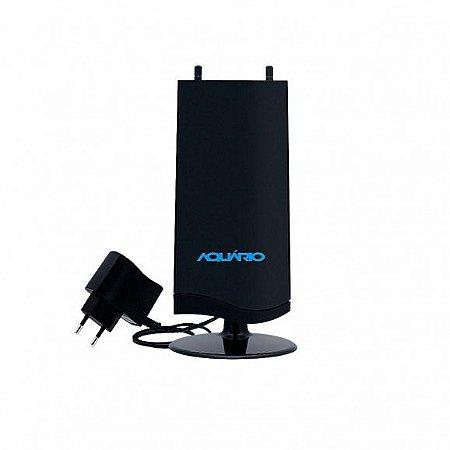 ANTENA AQUARIO TV AMPLIFICADA HDTV/ UHF/ VHF/FM DTV 4600