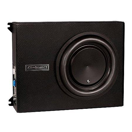 Caixa Slim Amplificada Xs 200-10' Falcon 200w Rms Com Duto