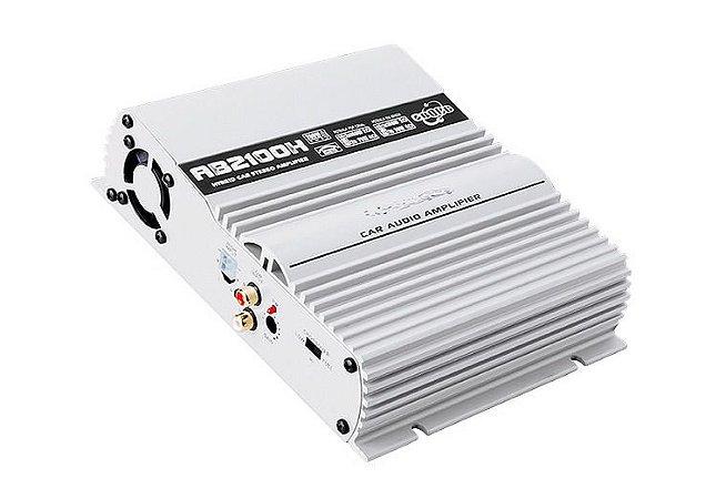 MODULO AMPLIFICADOR BOOG AB 2100 H C/ RCA 200 W/RMS 2OHMS
