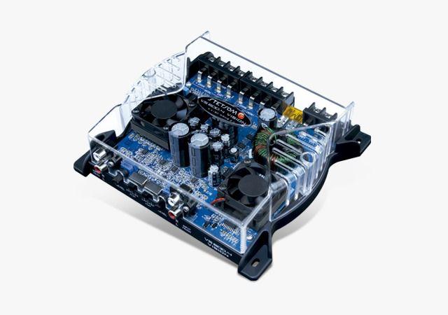 MODULO AMPLIFICADOR STETSOM VISION DIGITAL VS600.4 600W 2OHMS 4 CANAIS