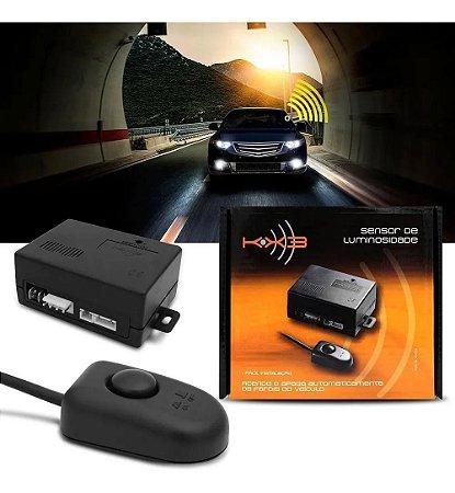 Sensor De Luminosidade Universal 12V Acende e Apaga Farol KX3