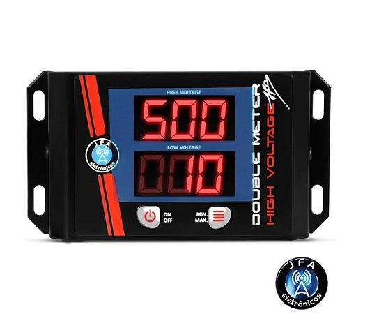Medidor De Bateria Double Meter Jfa led vermelho