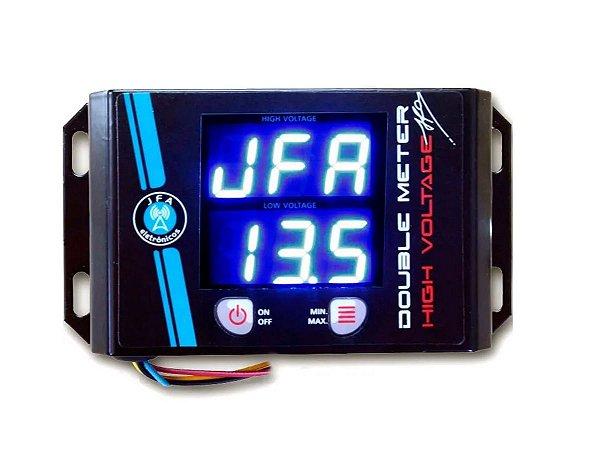 Medidor De Bateria Double Meter Jfa led azul