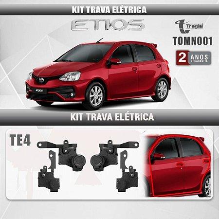 Kit Trava Elétrica Toyota Etios 4 Portas Tragial 2015-2021