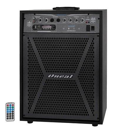 ONEAL CAIXA DE SOM ATIVA OCM 12 OCM-4112 USB/SD/FM 150WRMS
