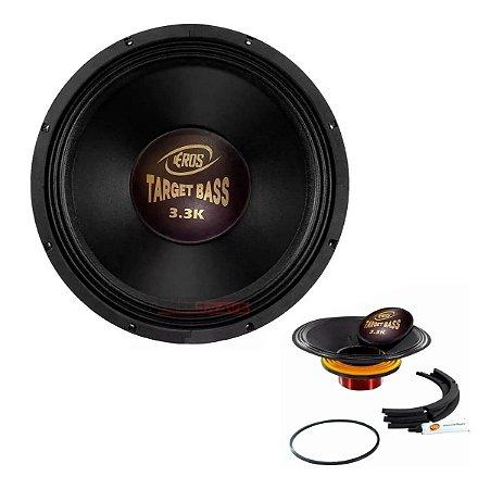 Kit Reparo Alto Falante Eros E15 Target Bass 3.3k 4 Ohms