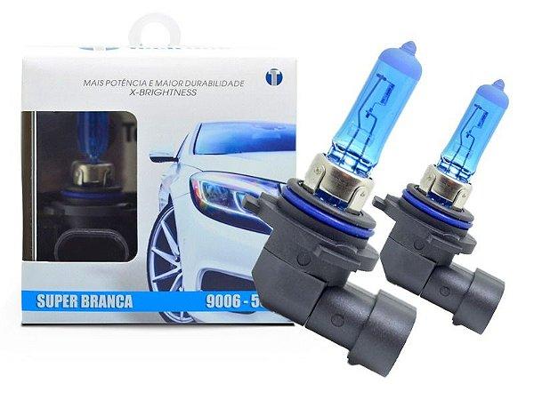 LAMPADA SUPER BRANCA TECHONE HB4 9006 12V 55W 8500K
