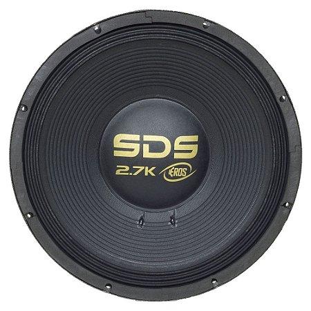 EROS 15 POLEGADAS E 15 SDS 2.7K BLACK 8OHMS 1350W RMS