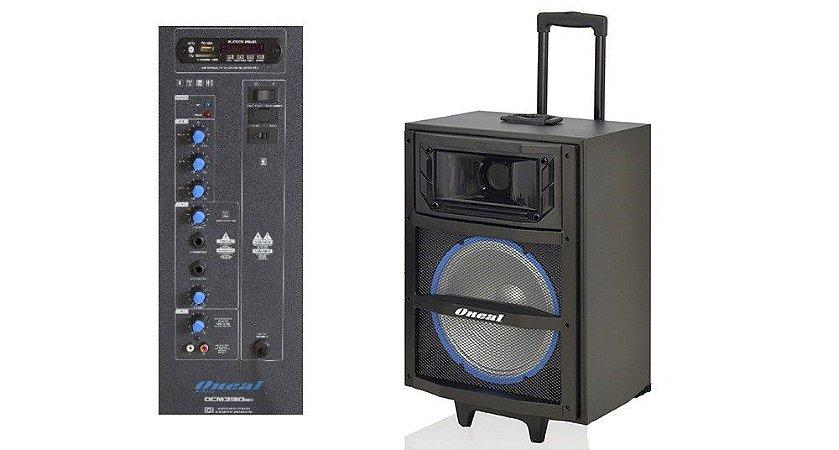 ONEAL CAIXA DE SOM BLUETOOTH OCM3910H USB/SD/FM/CON/BT 120W