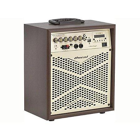 Caixa de Som Amplificada Multiuso Oneal OCM 4006B Vintage