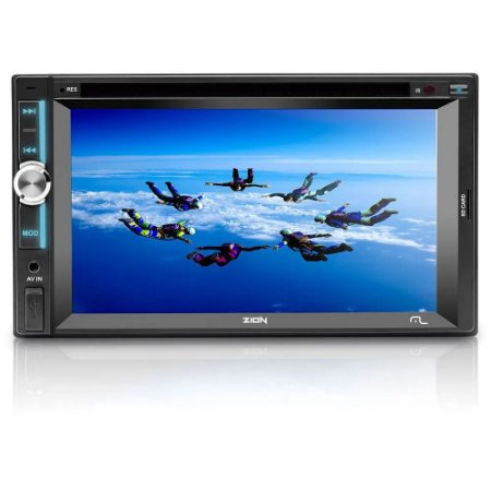 DVD PLAYER MULTIMÍDIA MULTILASER ZION P3307 TELA 6.2' TOUCH USB/AUX