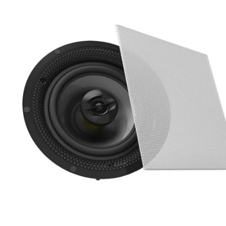 Arandela BSA S4 - Caixa Acústica Ceiling / In Wall 60W Rms