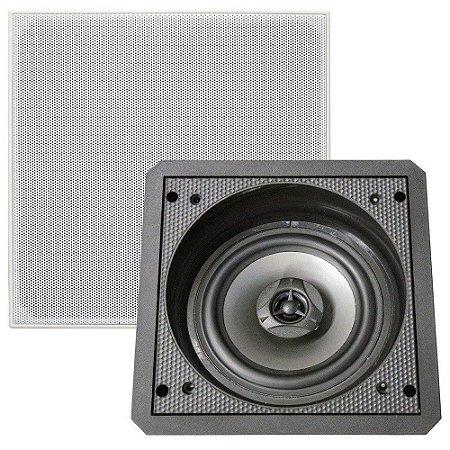 Arandela Caixa acústica Quadrada Angular SAX6 BSA BRAVOX