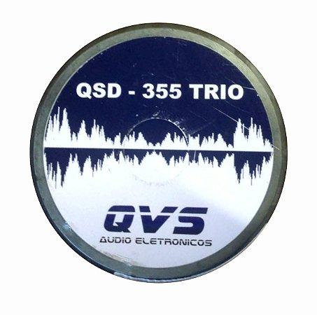 DRIVER QVS QSD355TRIO 200W RMS 8OHMS - RECONDICIONADO