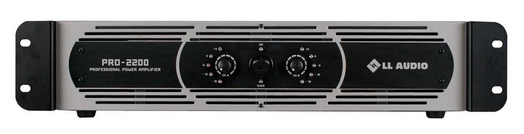 Amplificador de Potência PRO 2200 LL Áudio