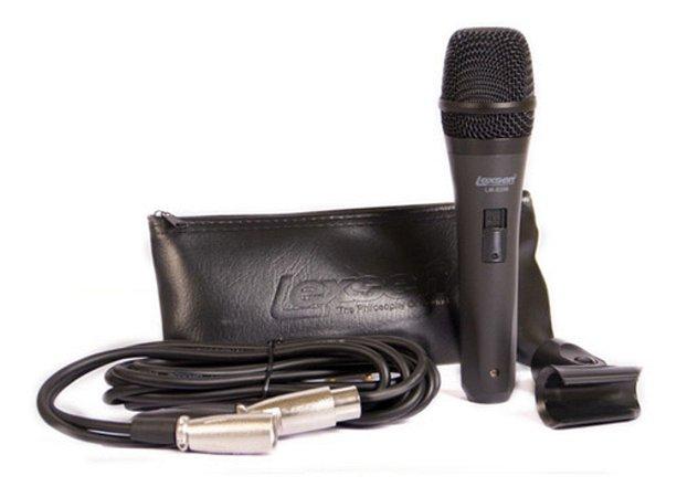 Microfone Lexsen Lm S200 Com Fio Vocal Com Cachimbo E Bag