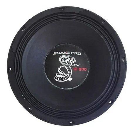 Alto Falante Woofer Snake Pro 12 Polegadas 12.600 600w Rms 8 Ohms