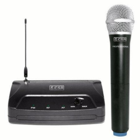 Microfone Sem Fio Csr 104h Vhf