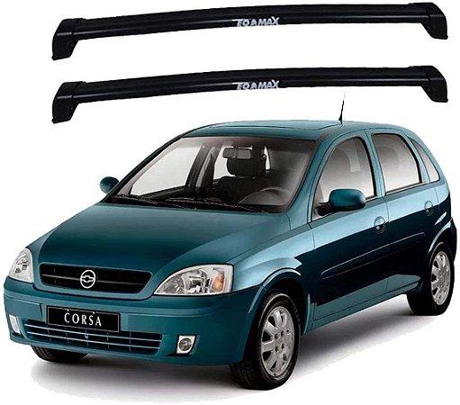 Rack De Teto New Wave Corsa 2002 Até 2012 Preto - Eqmax