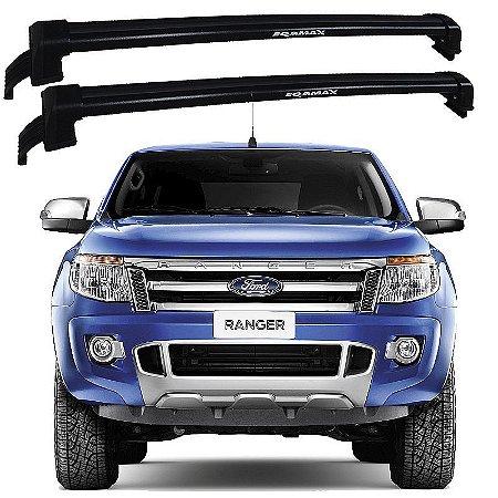 Rack De Teto New Wave Ford Ranger 2015 2016 Preto - Eqmax