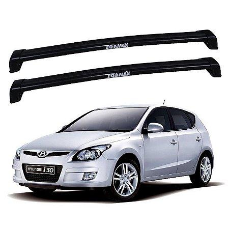 Rack De Teto Hyundai I30 2009 Até 2012 - Eqmax New Wave Preto