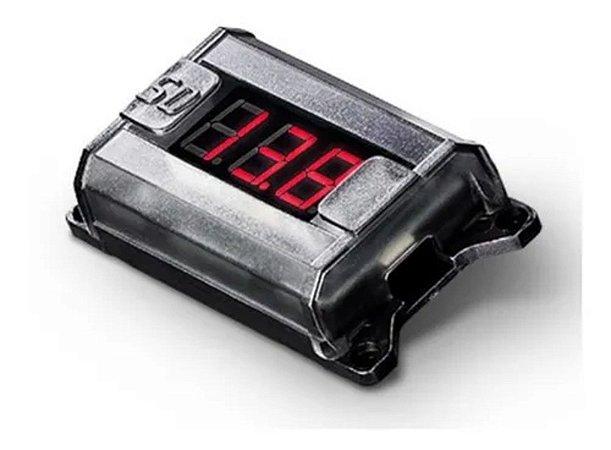 Voltímetro Digital Soundigital Vm1 Baixa E Alta Voltagem
