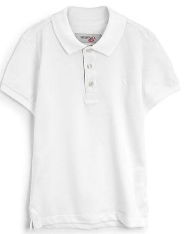 Camisa Polo Reserva Mini Menino Liso Branca