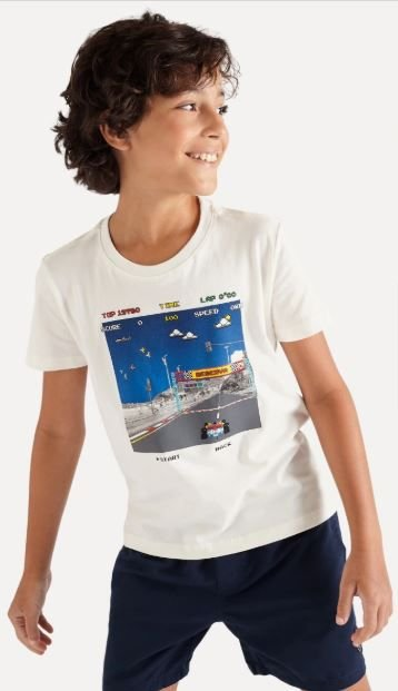 Camiseta reserva mini SILK RACE CAR