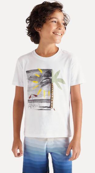 camiseta reserva mini SILK VACATION