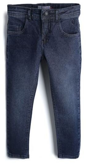 Calça Jeans Reserva Mini infantil Lisa - Azul