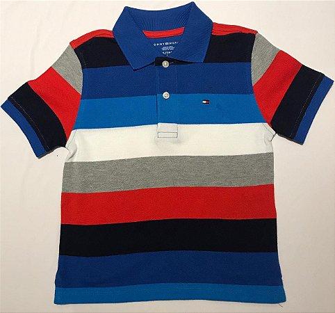 Camisa Polo Tommy Infantil Masculino
