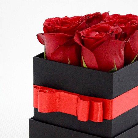 Caixa com rosas - Quarteto