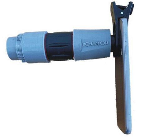 Adaptador de celular para microscópio cirúrgico tipo Zeiss