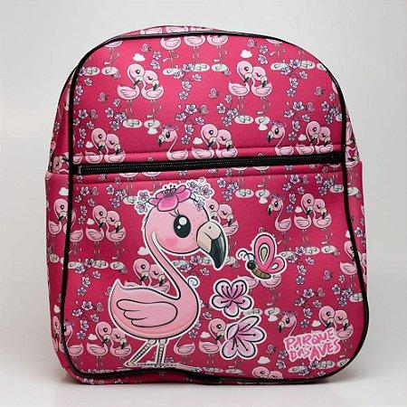 "Mochila Infantil - ""Flamingo Baby"""