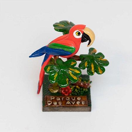 Miniatura arara-vermelha
