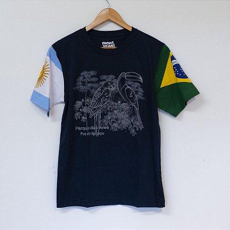 Camiseta Brasil/Argentina